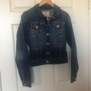 True Religion S Denim a Jacket Like new
